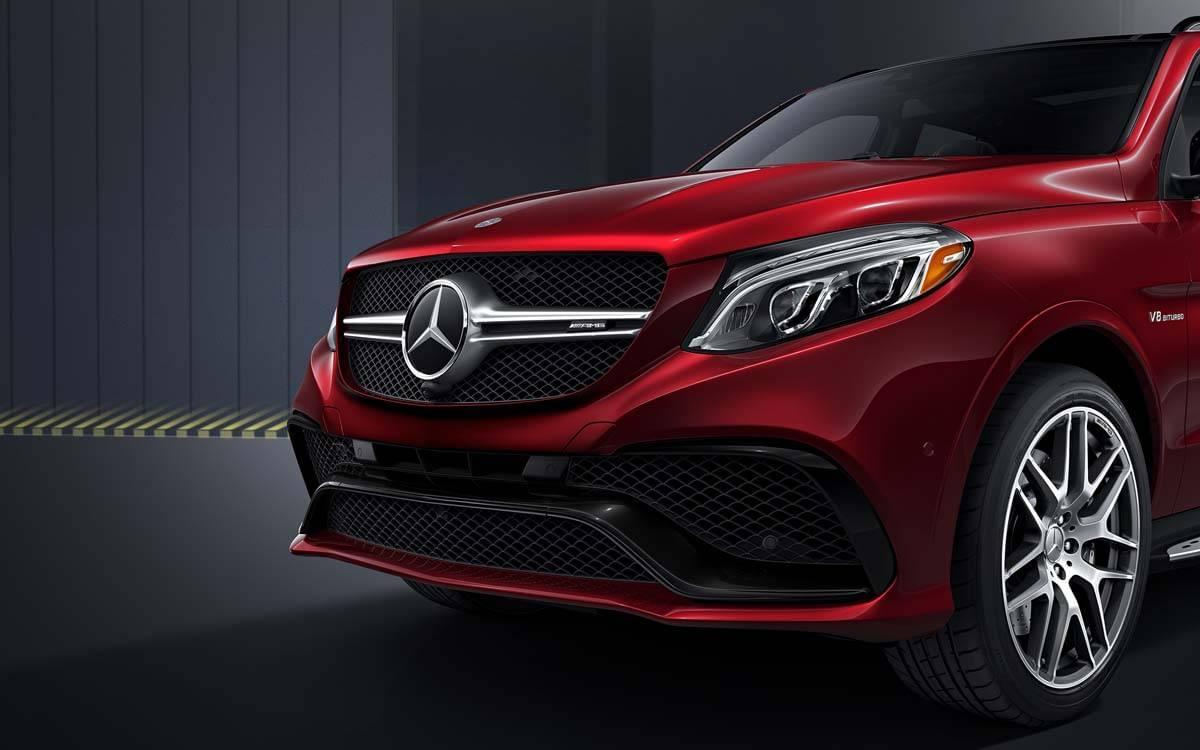 Mercedes-Benz GLE front exterior details
