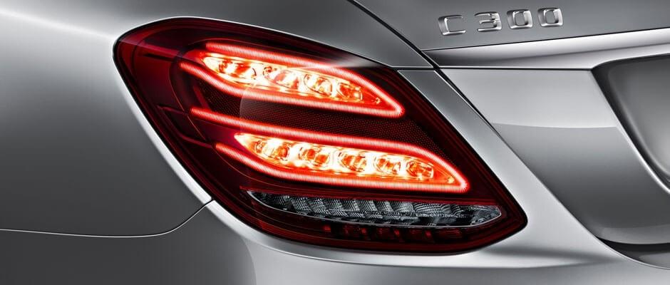 2018 Mercedes-Benz C-Class Sedan Exterior Up Close