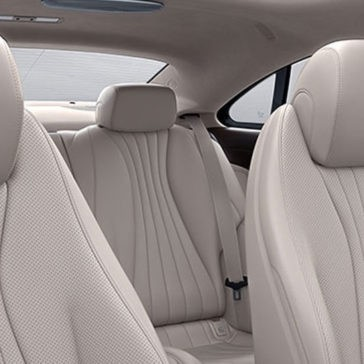 2018 Mercedes-Benz E Class Coupe Seats