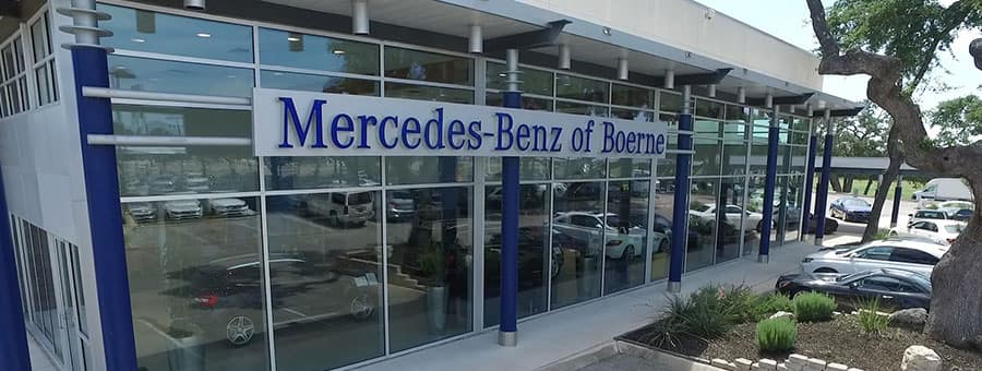 Mercedes-Benz of Boerne dealership near San Antonio TX