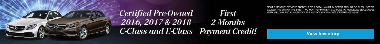 C-CLASS & E-CLASS CPO OFFER - JAN2020