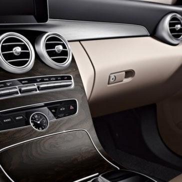 2018 Mercedes-Benz C-Class Sedan Front Interior