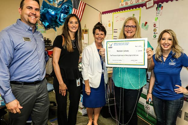Grant to Support Clear Creek ISD