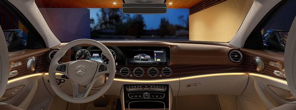 Leading technology enhances 2017 mercedes benz e class for Mercedes benz e learning