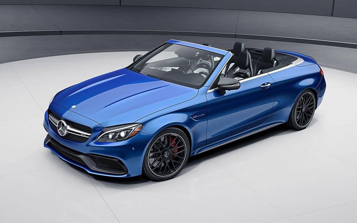 2017-AMG-C63-S-Cabriolet Blue