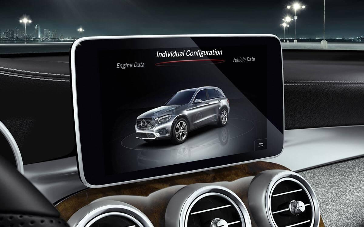 2017 GLC rearview camera