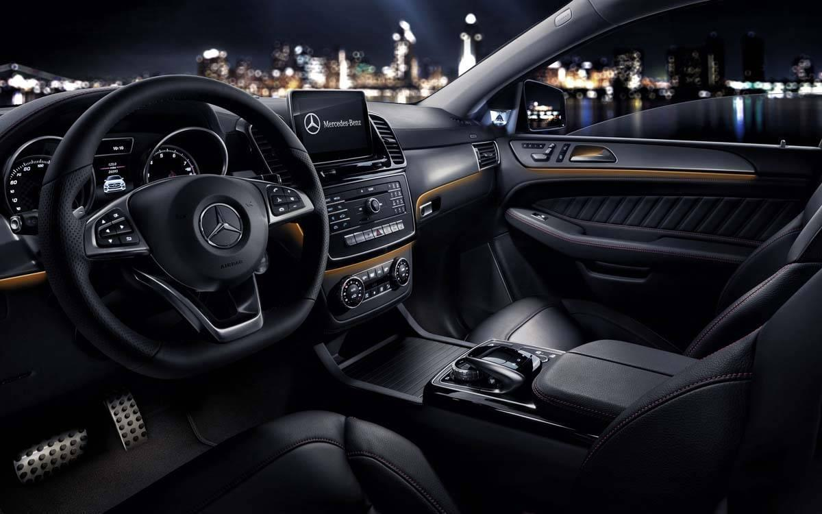 Mercedes-Benz GLE Interior Cabin