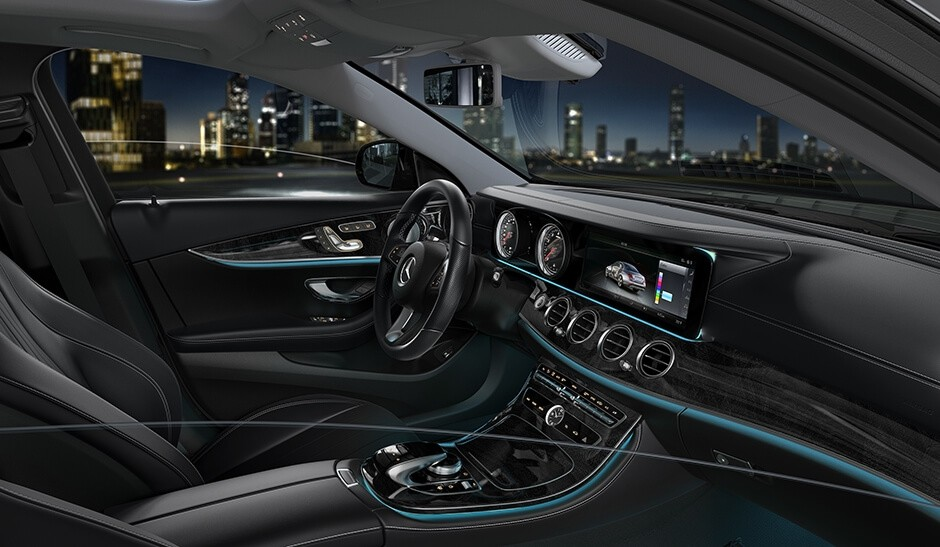2018 Mercedes-Benz E Class Sedan Interior