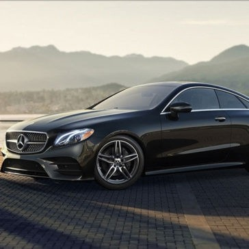 2018 Mercedes-Benz E Class Coupe Mountain Background