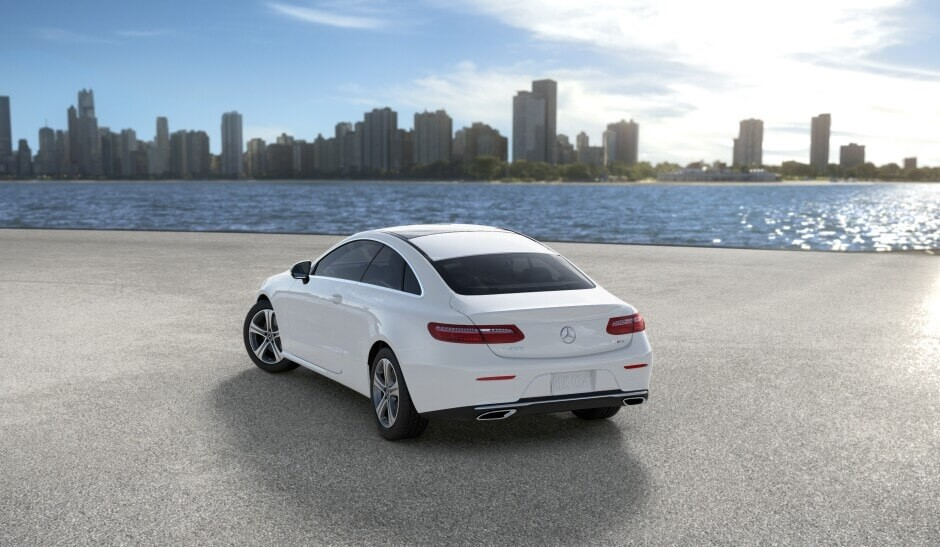 2018 Mercedes-Benz E Class Coupe Rear View