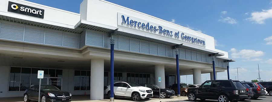 Mercedes-Benz of Georgetown dealership near Burnet TX