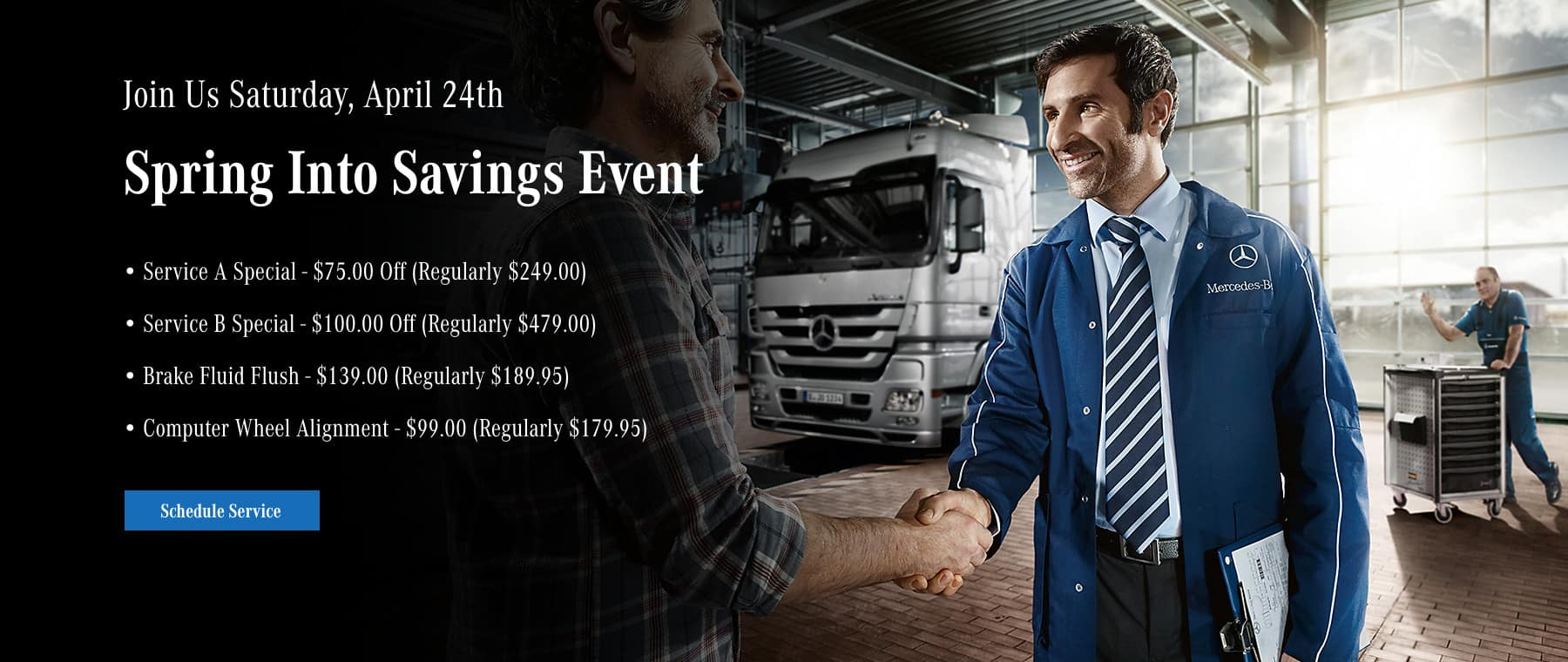 Spring Into Savings Event