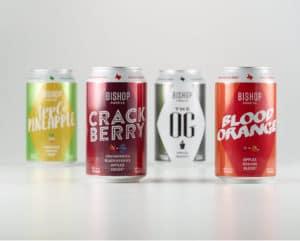 Bishop Cider Co Cans