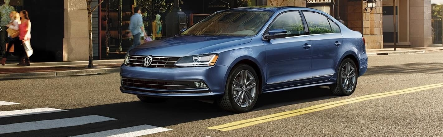 2018 VW Jetta Blue