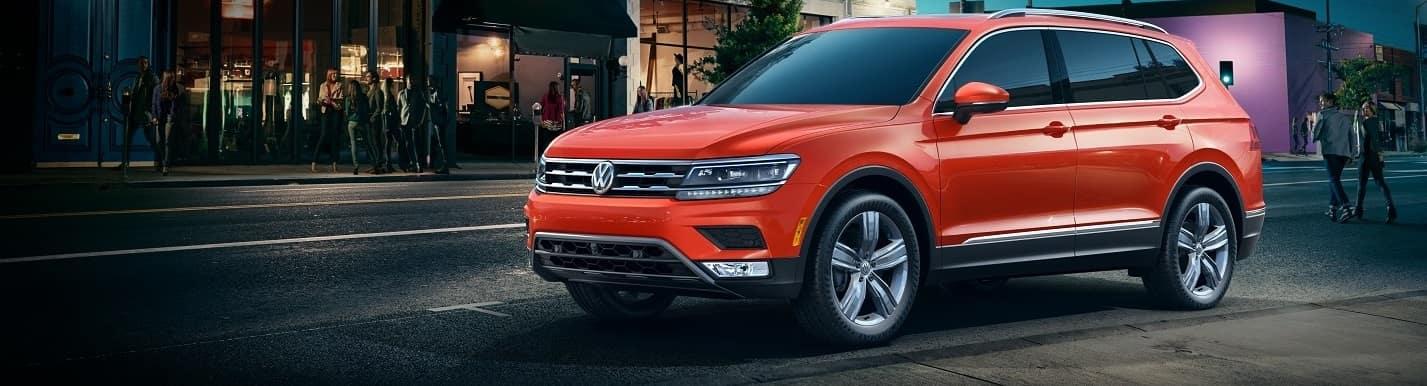 2019 Volkswagen Tiguan Habanero Orange Metallic