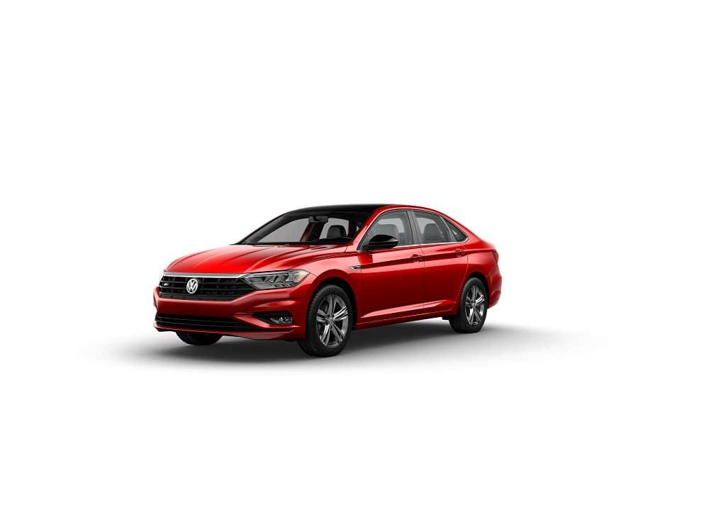 Volkswagen Jetta R-Line Tornado Red