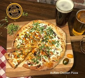 Frankie's Buffalo Chicken Pizza