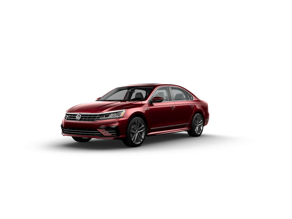 2019 Volkswagen Passat SE-R-line Fortana Red Metallic