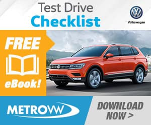 Test Drive Checklist
