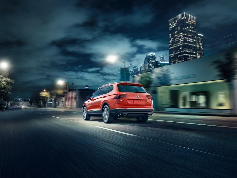 Volkswagen Tiguan Performance Specs