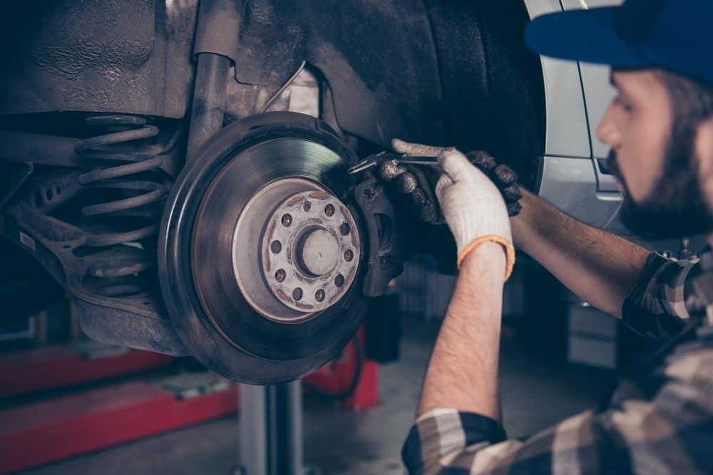 Volkswagen Jetta Brake Inspection