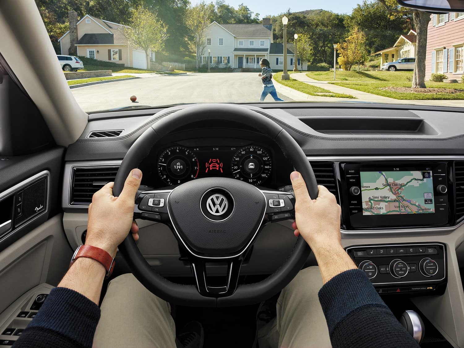 VW Atlas Safety Features