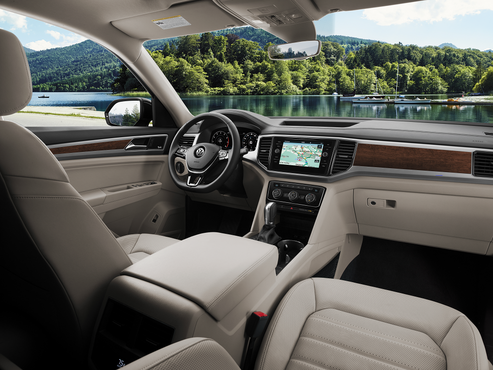 VW Atlas Interior Technology
