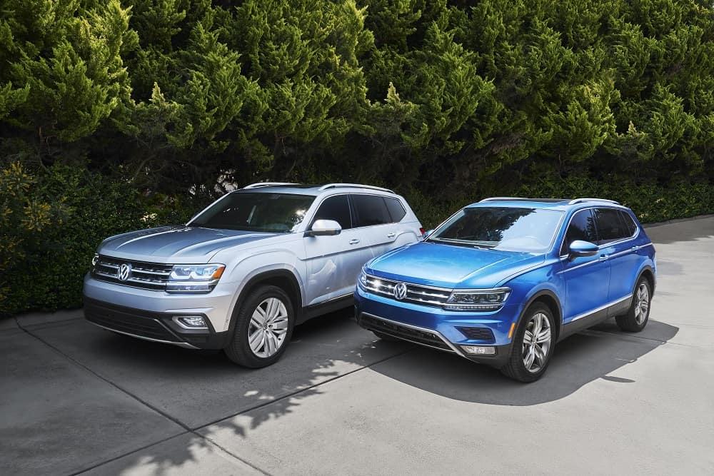 VW Atlas Models near Dallas, TX