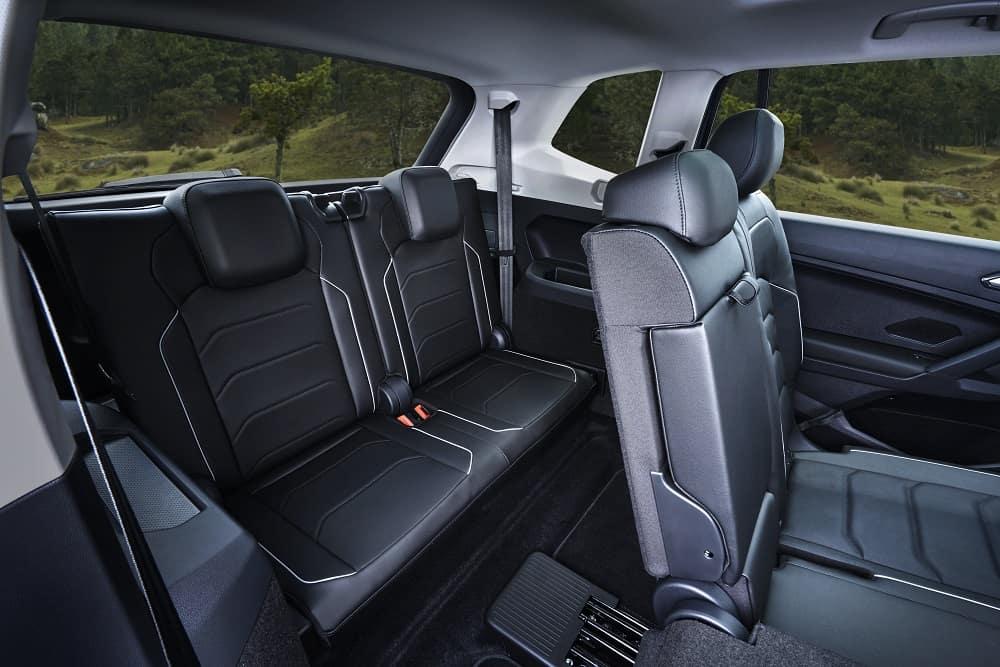 VW Tiguan Interior Black Leather