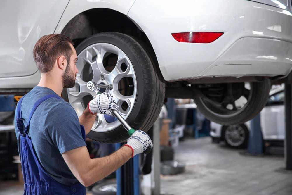 VW Tire Rotation