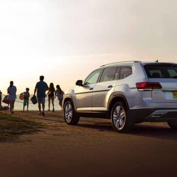 2019 VW Atlas At Beach