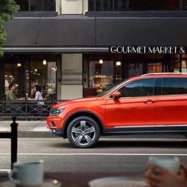 2019 VW Tiguan Parked