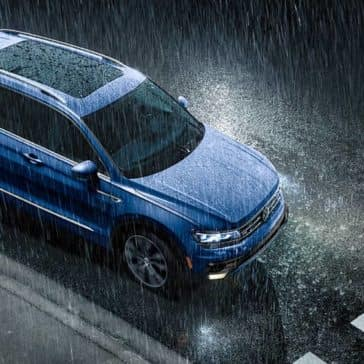 2020 VW Tiguan In The Rain