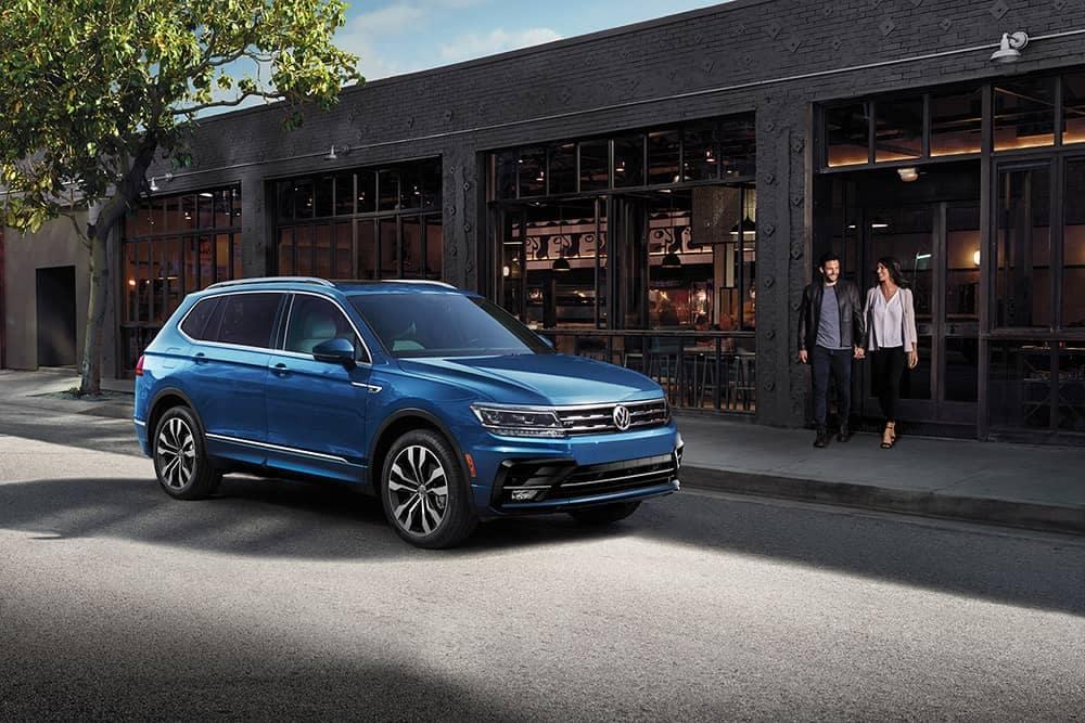 2020 VW Tiguan Parked