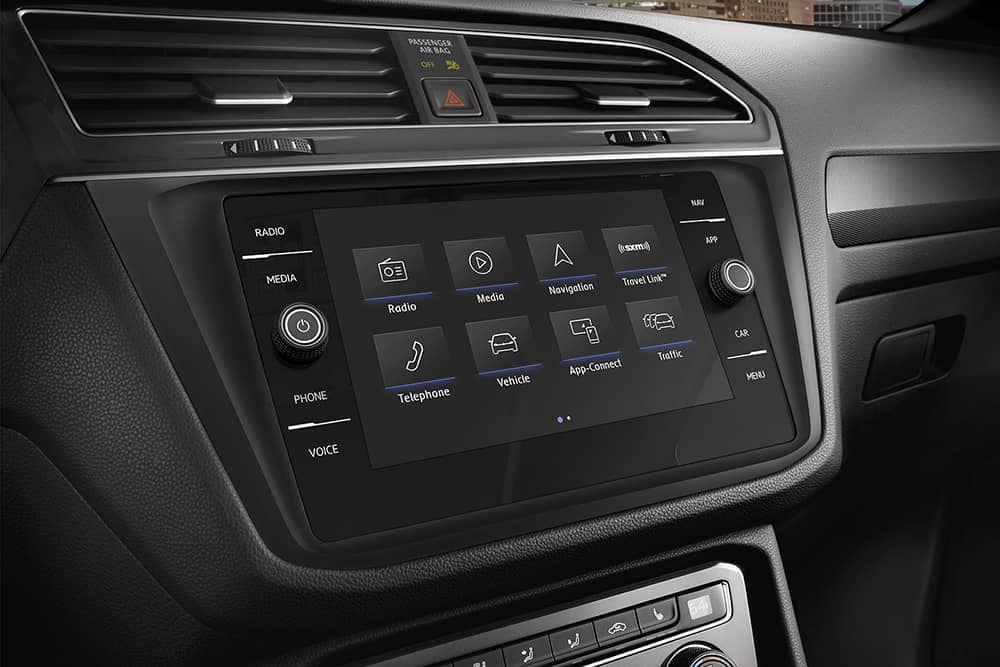 2020 VW Tiguan Technology