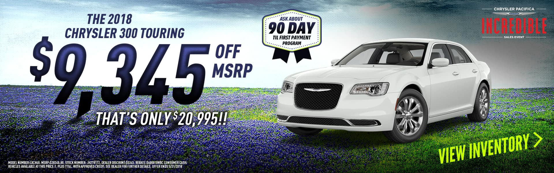 beaumont-tx-2018-chrysler-300-touring-deals-near-me