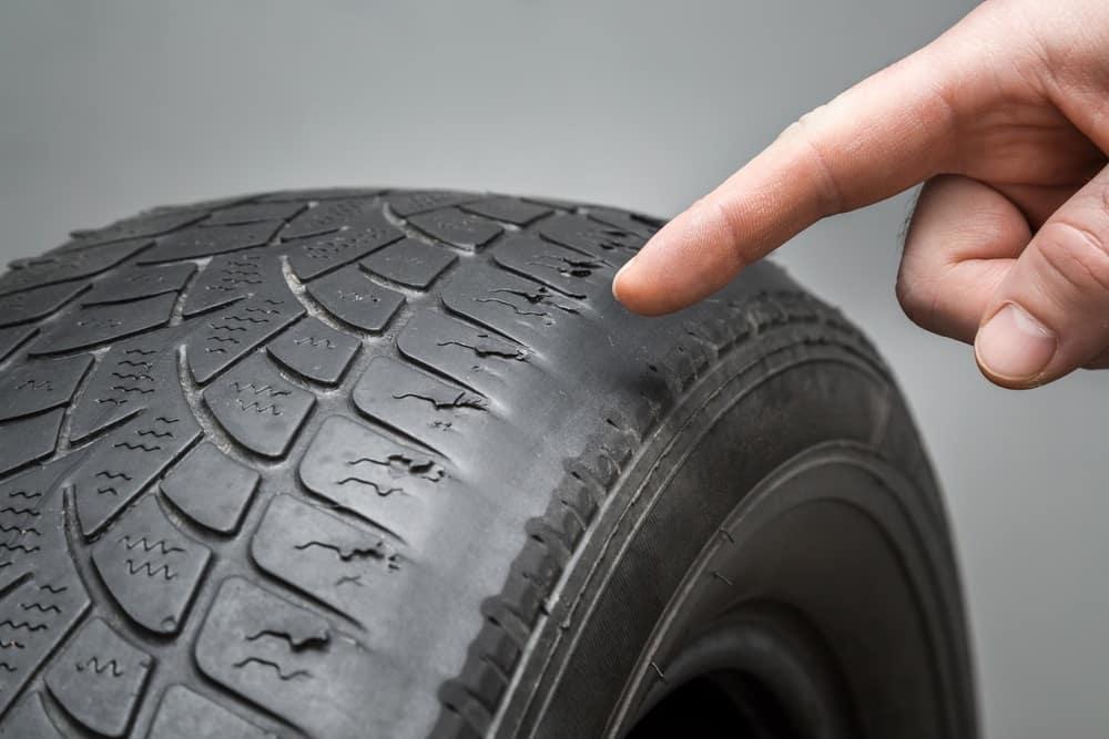 Worn Tires