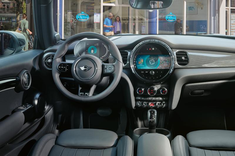 2022 Mini Convertible Dashboard