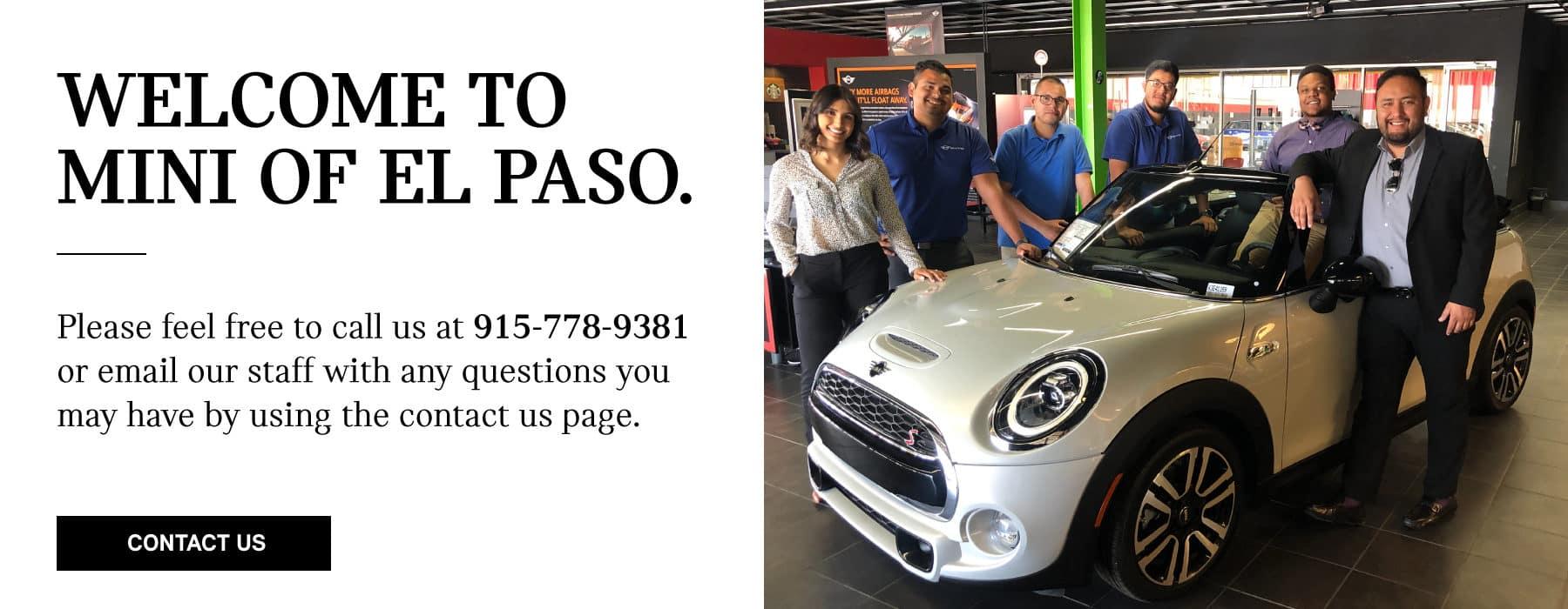 Mini Of El Paso Tx New Used Mini Cooper Dealership Near Me