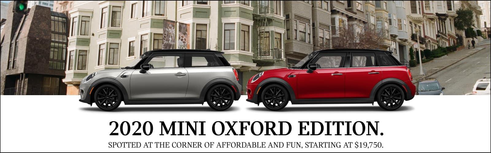 2020 MINI OXFORD EDITION