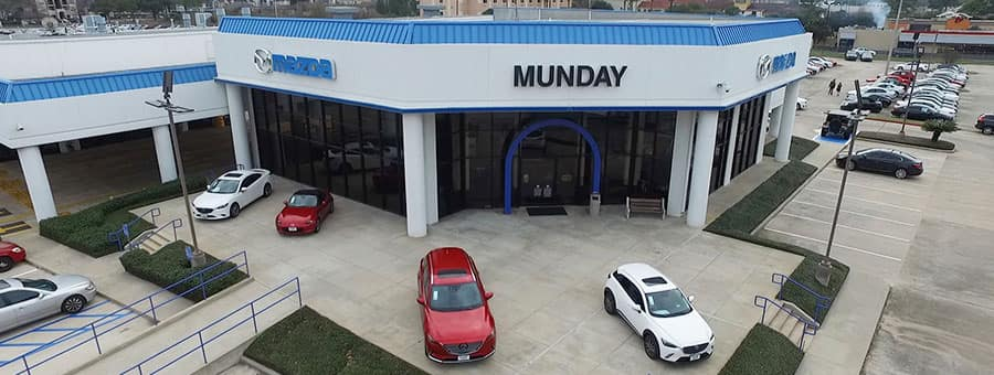 Munday Mazda dealership near me in Tomball TX