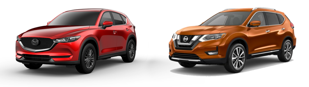 2019 mazda cx5 signature awd vs nissan rogue sl - team gillman mazda