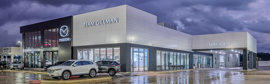 Team Gillman Mazda dealership near me in Tomball TX
