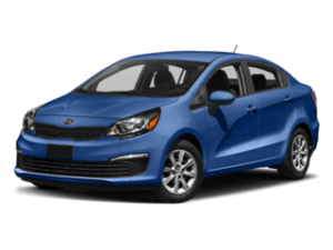 2019 Blue Kia Rio Review