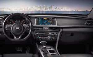 2019 Black Kia Optima Interior