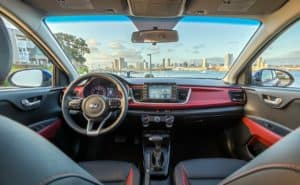 2019 Kia Rio interior technology