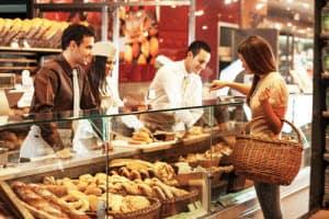 Shopping at Bakery