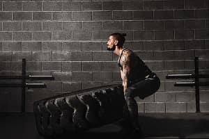 Man Doing CrossFit