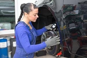 Checking Brake Pads