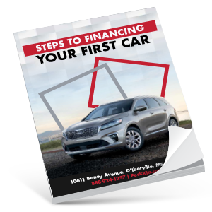 Steps to Financing Your First Car eBook Thumbnail